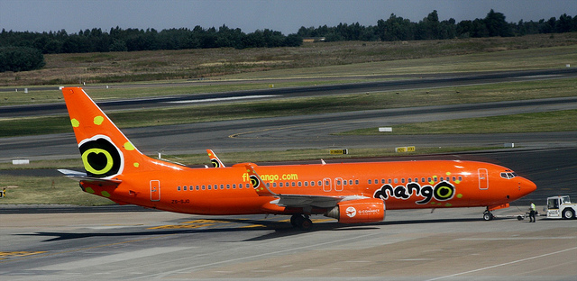 "The low-cost airline Mango has joined the International Air Transportation Association Carbon Offset Program with a R6 ""green fee"" option on their flights."