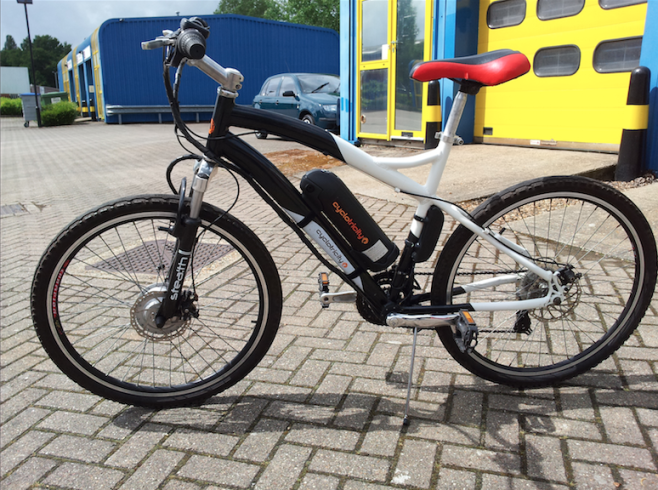 On average, an e-bike gives you more than 60km travelling distance.