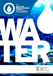 Sustainable Water Resource Handbook Volume 4