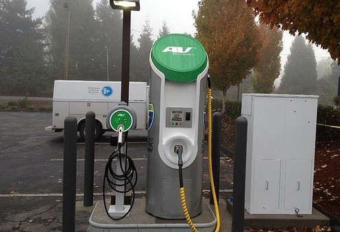 Electrict charging station