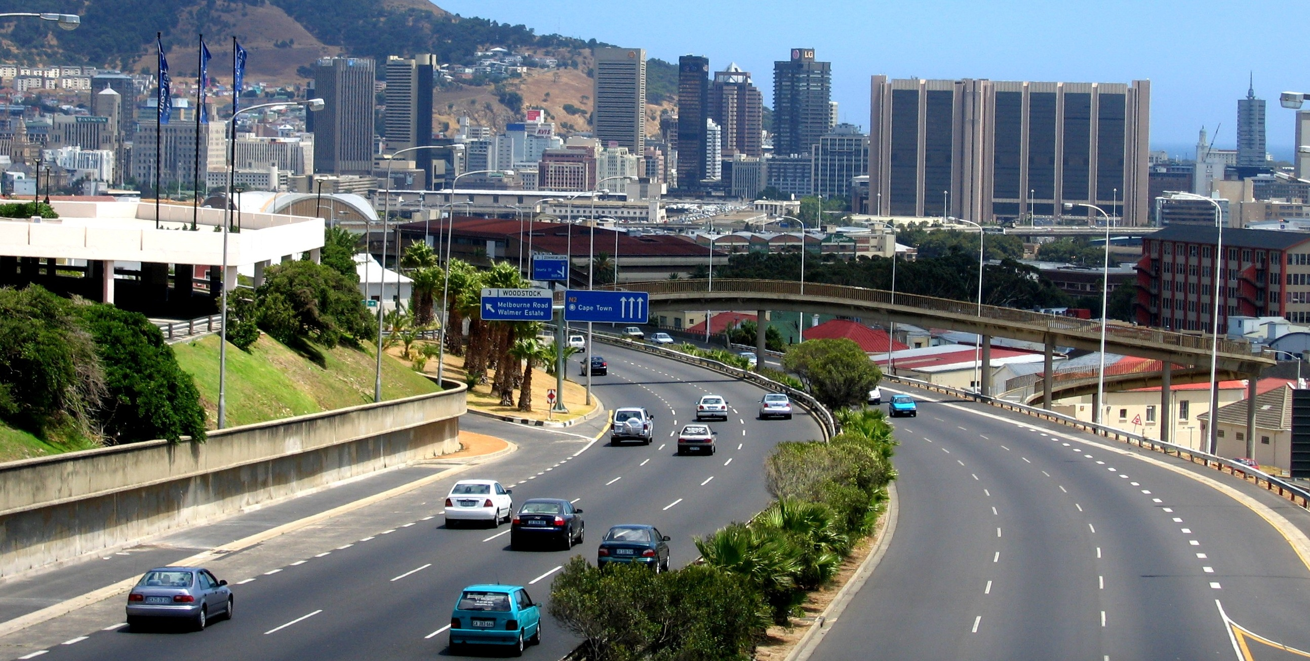 road map of south africa pdf