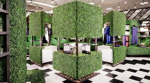 green shops