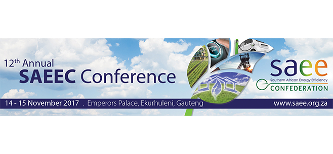 12th Southern African Energy Efficiency Conference