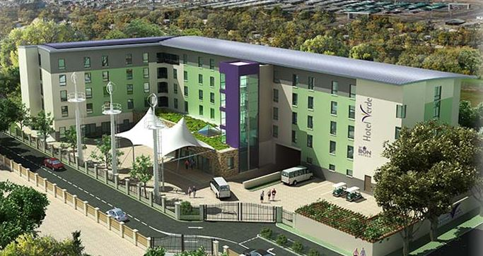 Hotel Verde claims to be Africa's greenest hotel, built from the ground up according to eco-friendly principles.