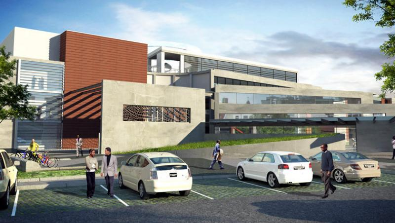 """Department of Environmental Affairs' new """"green"""" building headquarters"""