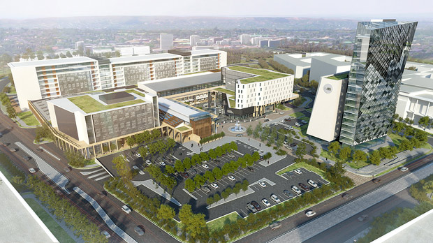 Menlyn Maine, SA's green city, gets three more office buildings
